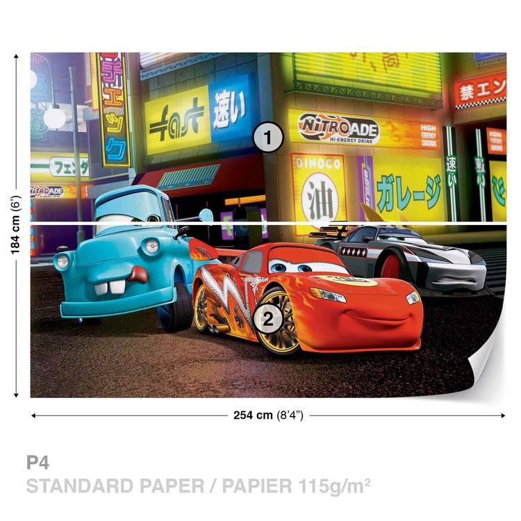 Disney Cars Lightning McQueen Wallpaper Mural