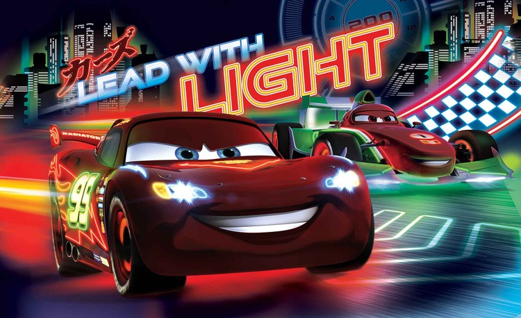 Disney Cars Lightning McQueen Bernoulli Wallpaper Mural