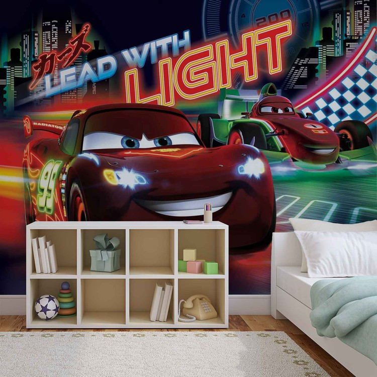 Disney Cars Lightning Mcqueen Bernoulli Wall Paper Mural Buy At