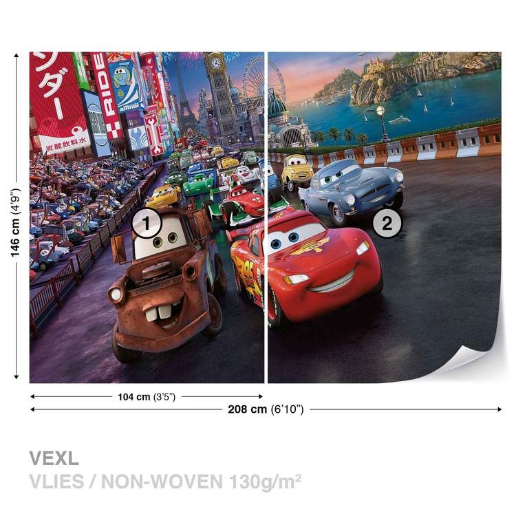 Disney Cars Lightning McQueen Mater Wallpaper Mural