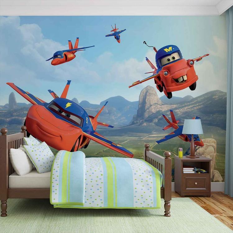 Disney Cars Planes Air Mater Wall Paper Mural Buy At Europosters
