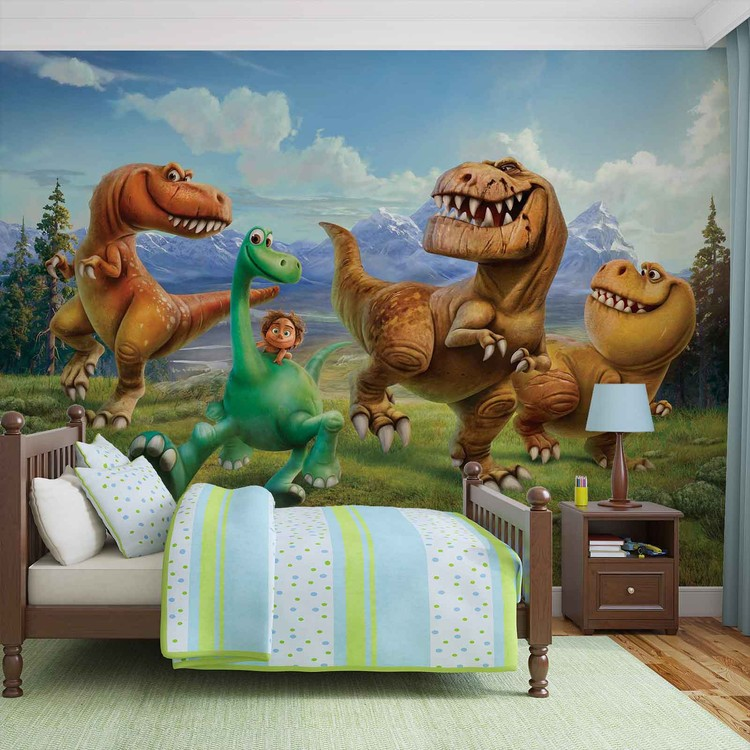 Disney Good Dinosaur Wall Paper Mural Buy at EuroPosters