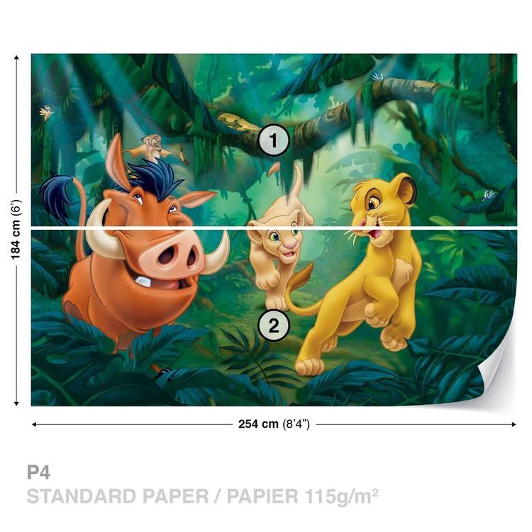 Disney Lion King Pumba Simba Wallpaper Mural