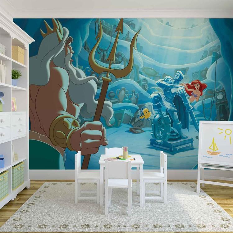 Disney Little Mermaid Wall Paper Mural Buy At Abposters Com