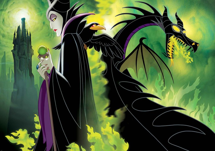 Disney Maleficent Wall Paper Mural Buy At Europosters