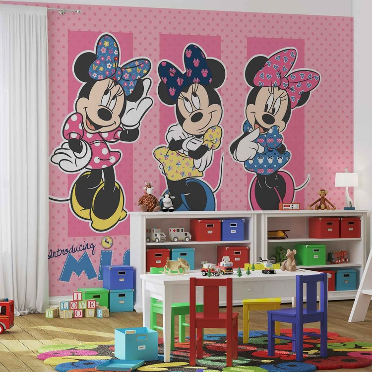 Disney Minnie Mouse Wallpaper Mural