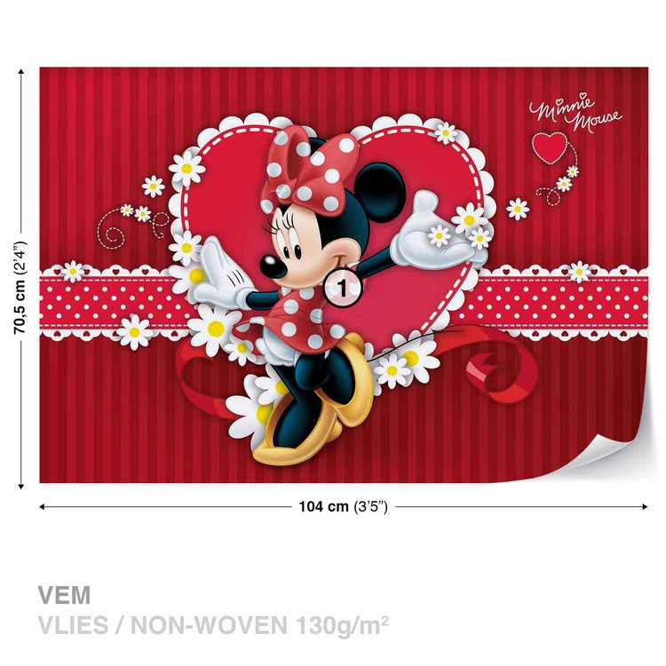 Red Minnie Mouse Wallpapers