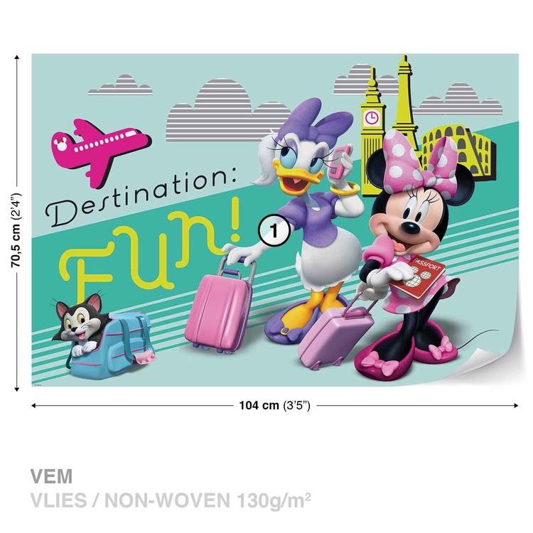 Disney Minnie Mouse Wallpaper Mural