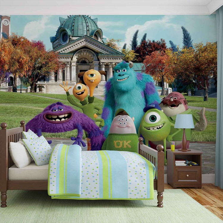 Disney Monsters Inc Wall Paper Mural | Buy at EuroPosters