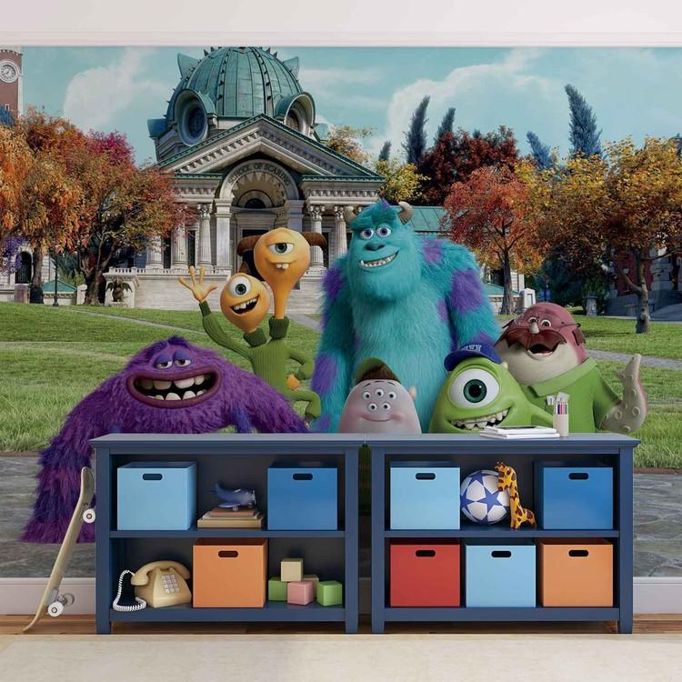 Disney Monsters Inc Wallpaper Mural