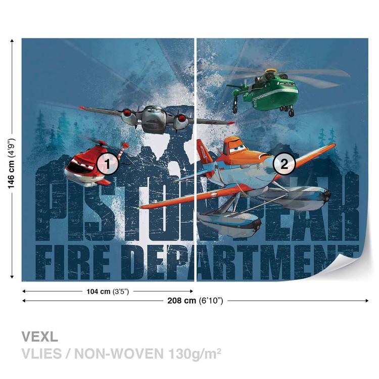 Disney Planes Dusty Blade Windlifter Wallpaper Mural