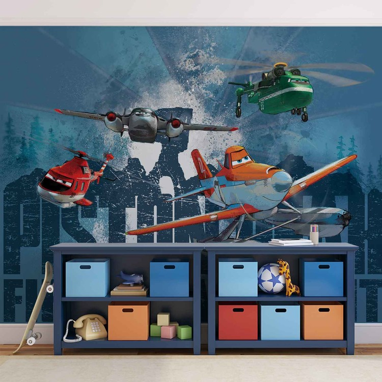 Disney Planes Dusty Blade Windlifter Wallpaper Mural