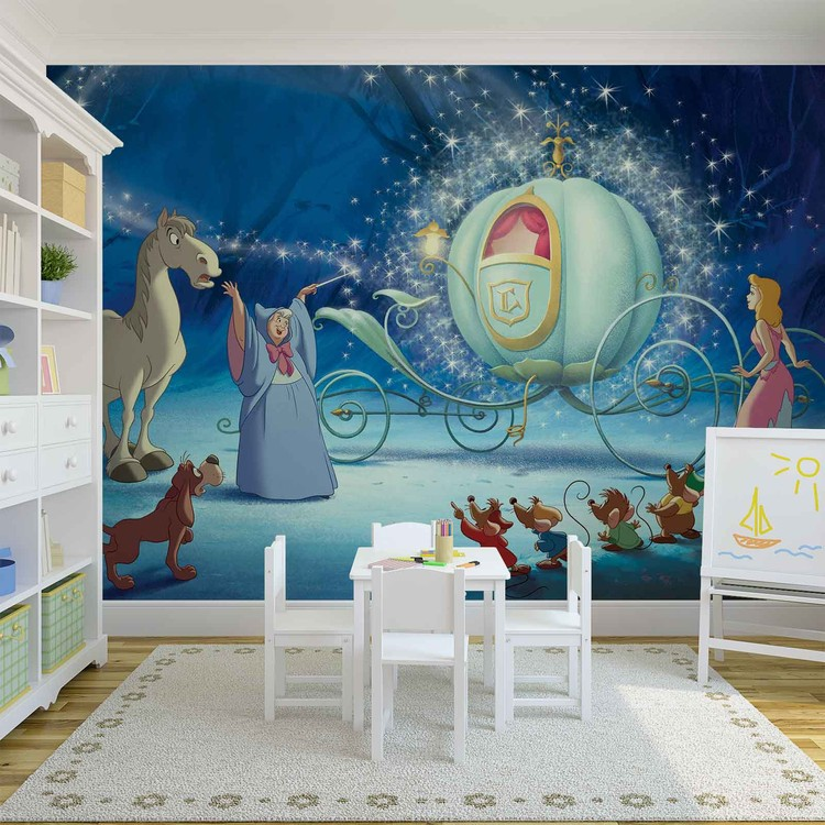 Disney Princesses Cinderella Wallpaper Mural