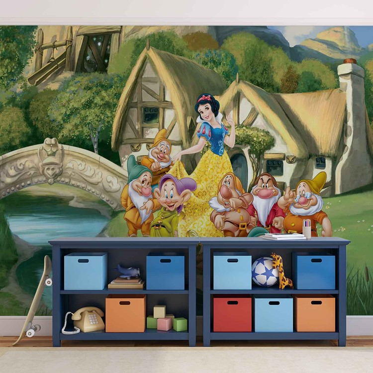 Disney Princesses Snow White Wallpaper Mural