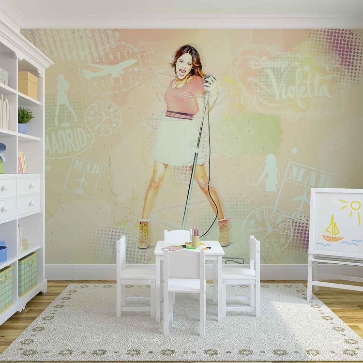 Disney Violetta Wallpaper Mural