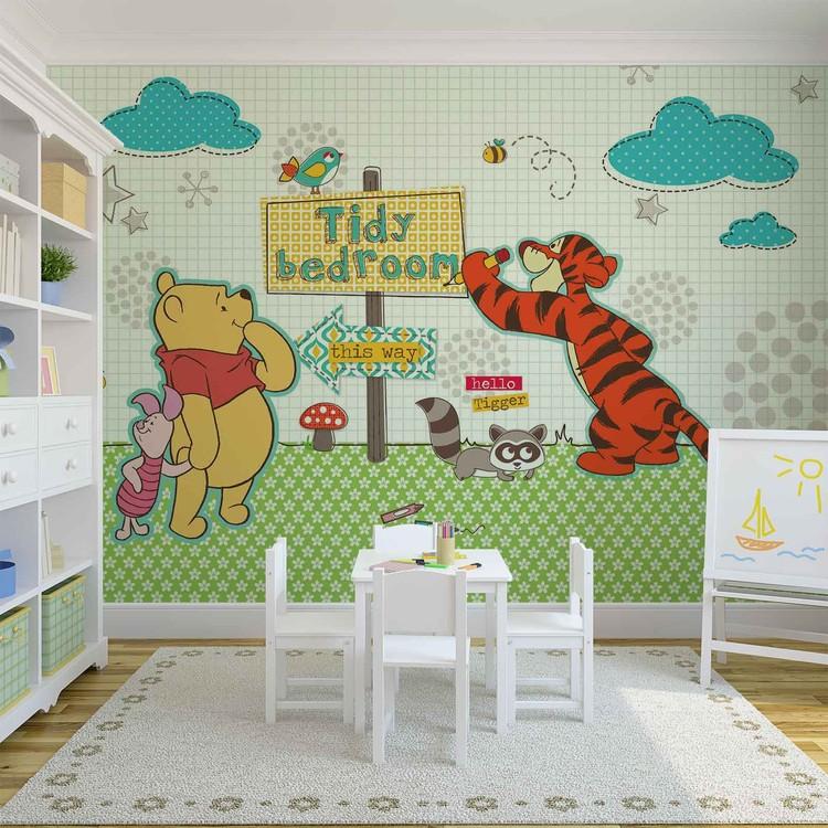 Disney Winnie Pooh Wall Paper Mural Buy at EuroPosters