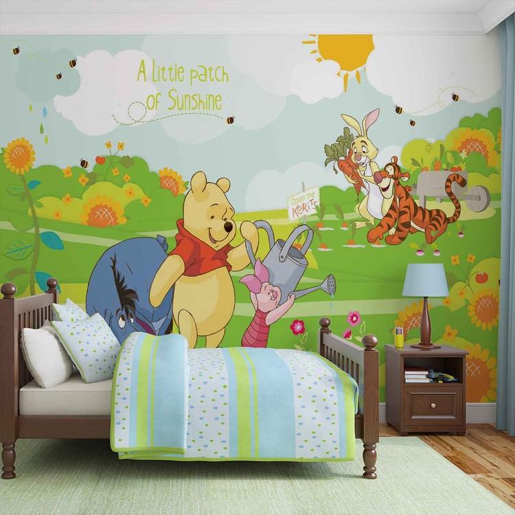 Disney Winnie Pooh Eeyore Piglet Tigger Wall Paper Mural Buy at