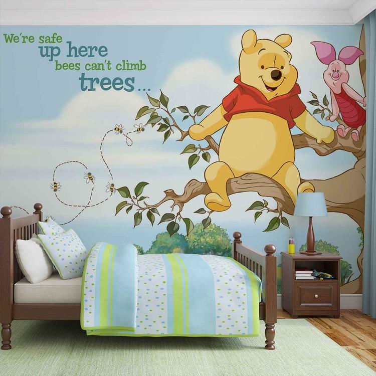 Disney Winnie Pooh Piglet Wall Paper Mural Buy at EuroPosters