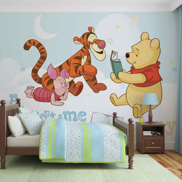 Disney Winnie Pooh Piglet Tigger Wallpaper Mural