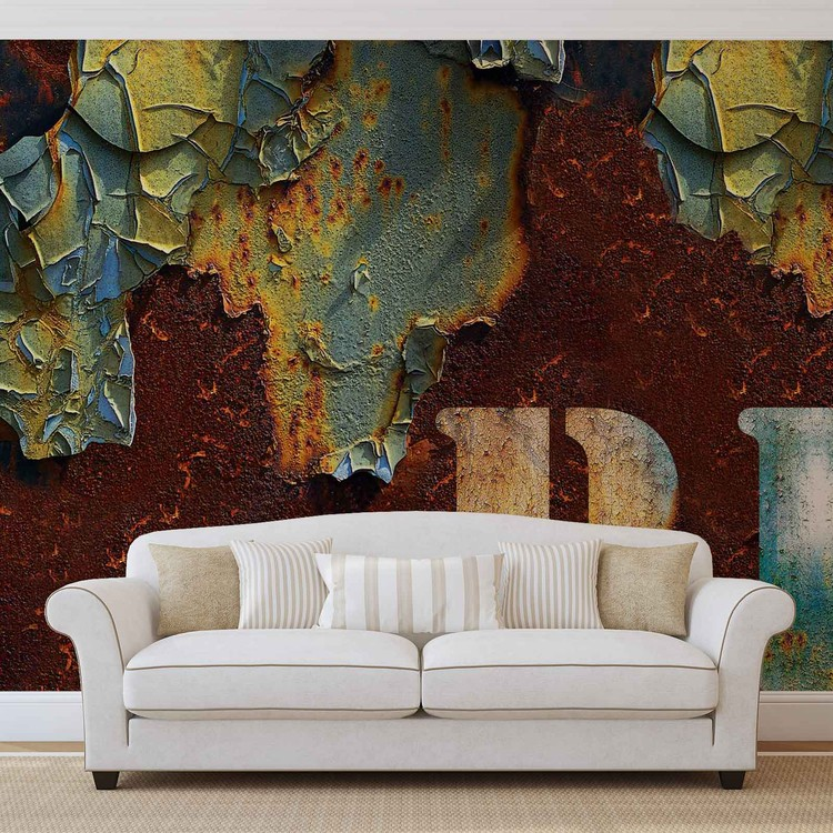 Distressed Texture Wallpaper Mural