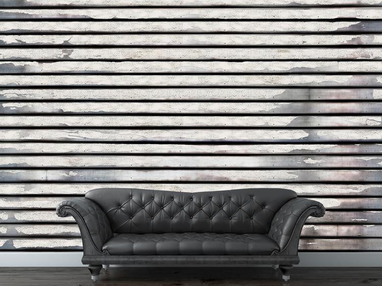 Distressed Wood Wallpaper Mural