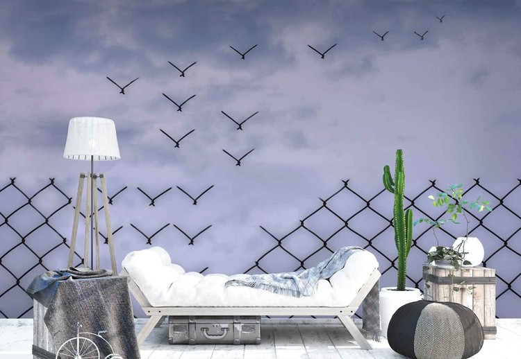 Don´T Fence Me In! Wallpaper Mural