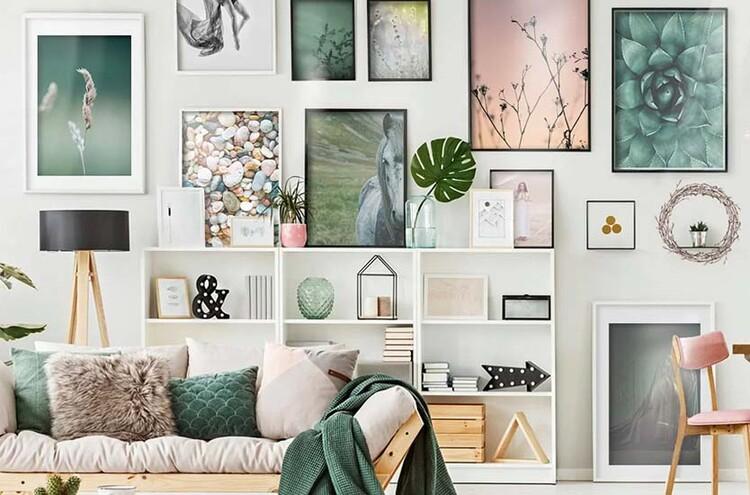 Wallpaper Mural Dry plants at winter