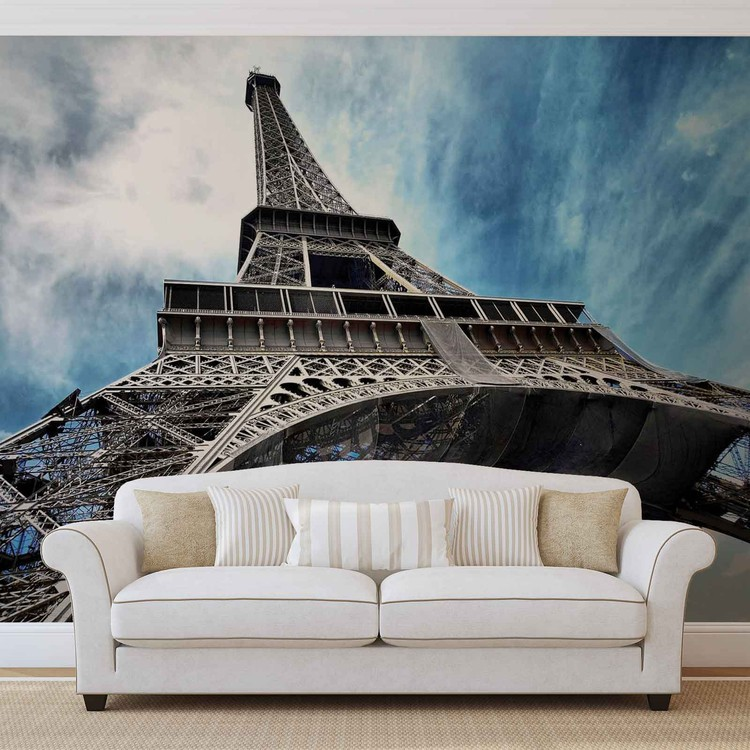 Eiffel Tower Paris Wall Paper Mural Buy at EuroPosters