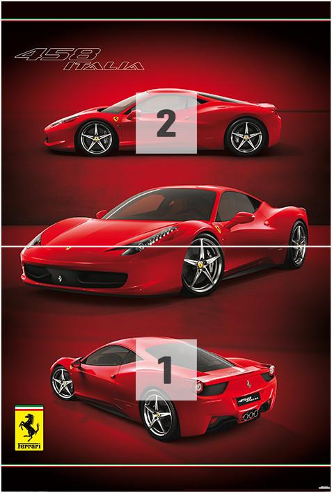 Ferrari Wall Mural Buy at EuroPosters
