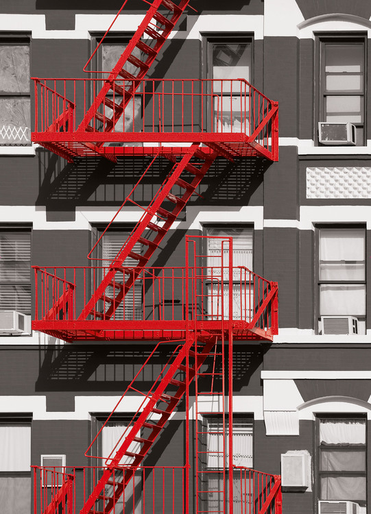 FIRE ESCAPE Wallpaper Mural