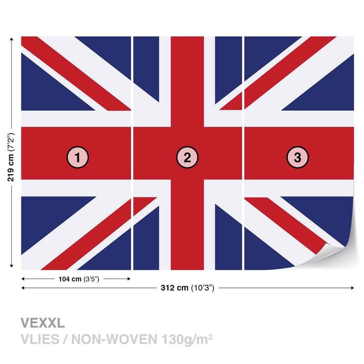 Flag Great Britain UK Wall Paper Mural | Buy at Abposters.com
