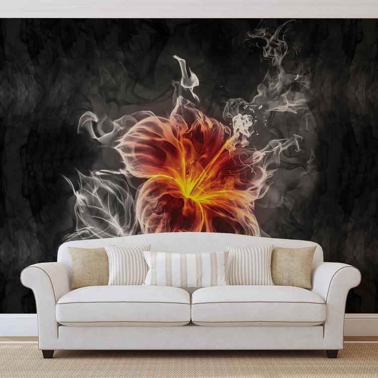 Flower Wallpaper Mural