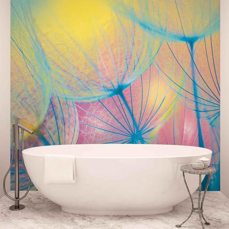 Flower Dandelion Wallpaper Mural