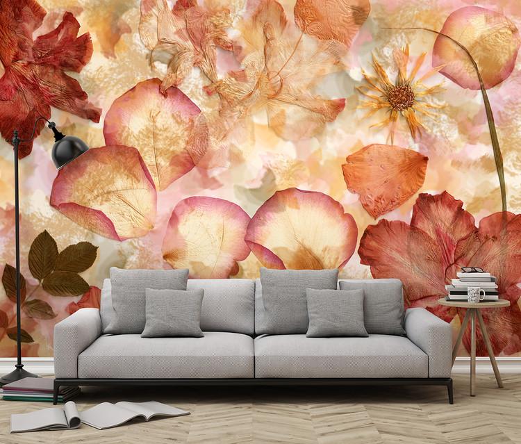 Flowers Wallpaper Mural