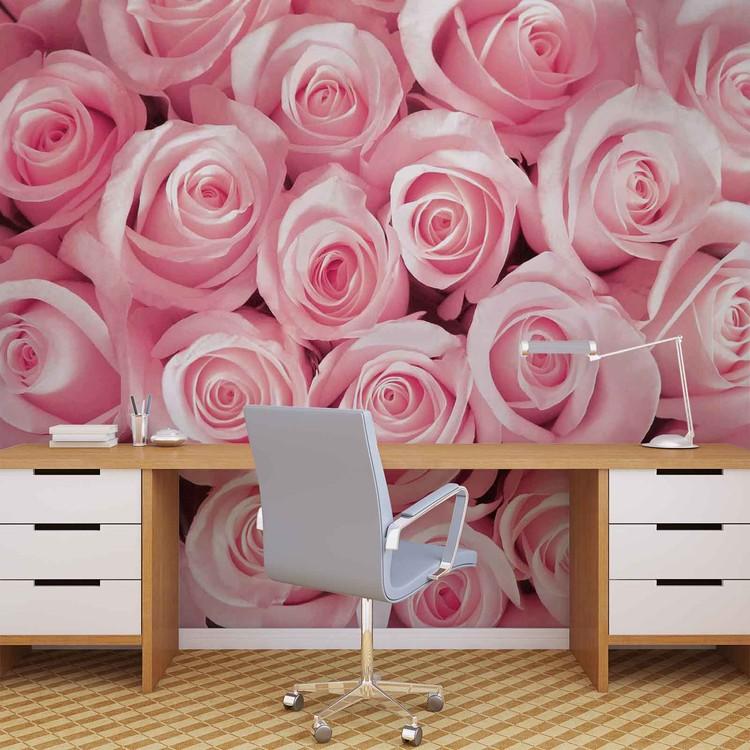 Flowers Roses Wallpaper Mural