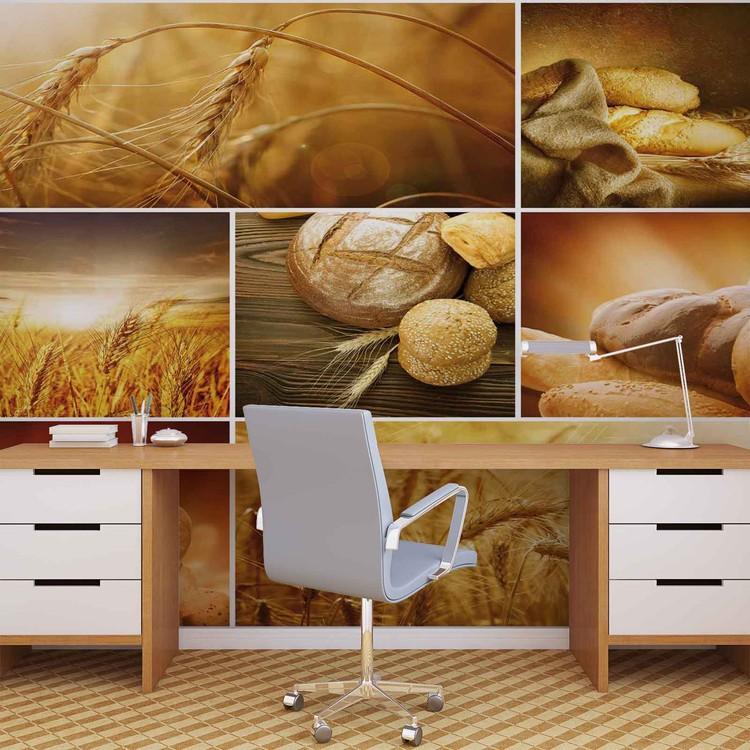 Food Bread Wallpaper Mural