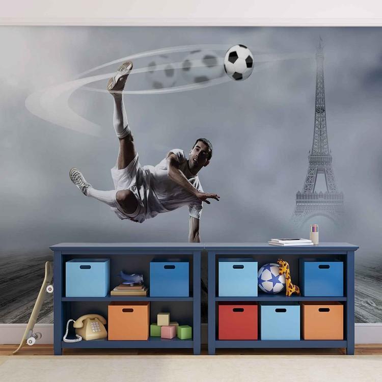 Football Player Paris Wallpaper Mural