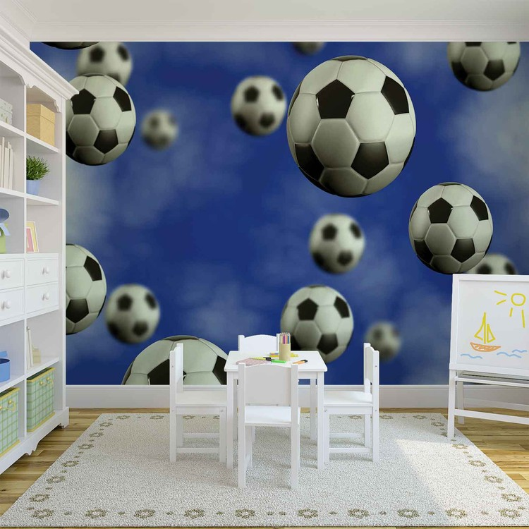 Football Soccer Wall Paper Mural Buy at EuroPosters