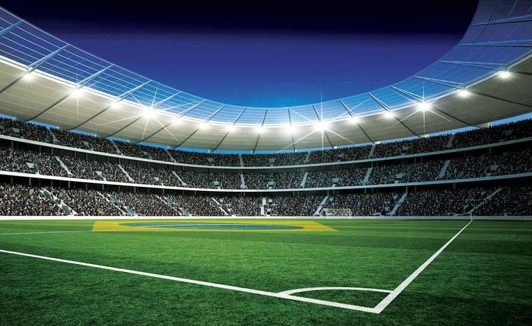 Football Stadium Wallpaper Mural