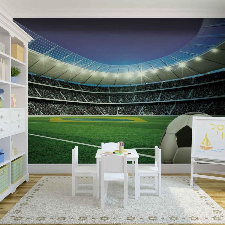 Football Stadium Sport Wallpaper Mural