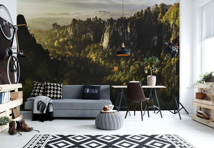 Forest Whispers Wallpaper Mural