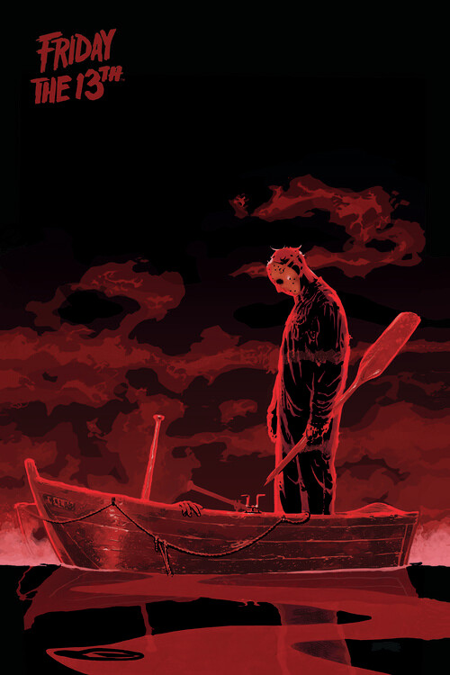 Wallpaper Mural Friday the 13th - Boat