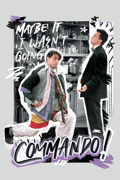 Wallpaper Mural Friends - Commando!