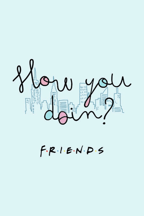 Wallpaper Mural Friends - How you doin?