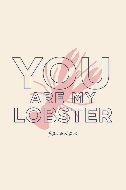 Wallpaper Mural Friends - You're my lobster