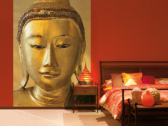 GOLDEN BUDDHA Wallpaper Mural