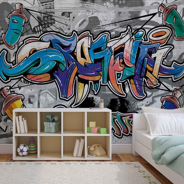 Graffiti Street Art Wallpaper Mural