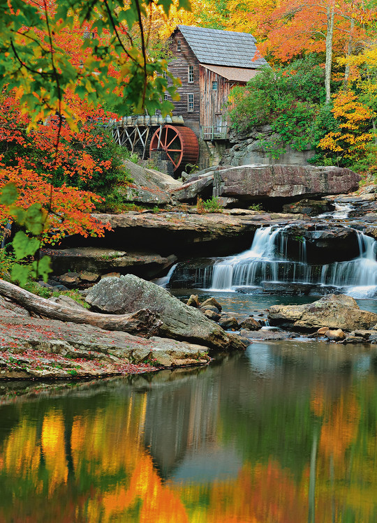 GRIST MILL Wallpaper Mural