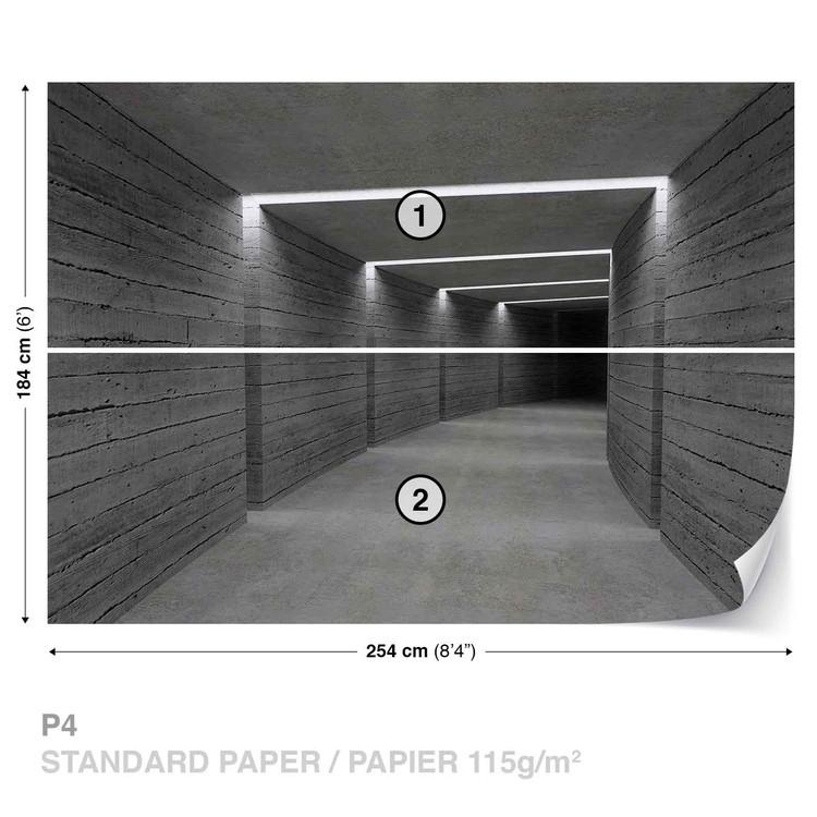 Hallway Ligths Wallpaper Mural