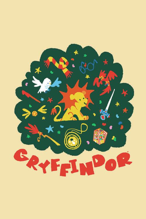 Wallpaper Mural Harry Potter - Gryffindor